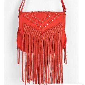 Urban outfitters fringe crossbody